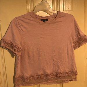 Topshop pink shirt/blouse